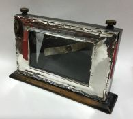 A good silver mounted perpetual calendar frame of
