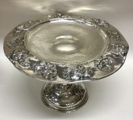 LATINO MOVIO: A large and rare circular silver com