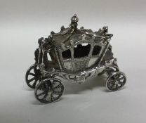 A good quality cast model of a carriage. London. A