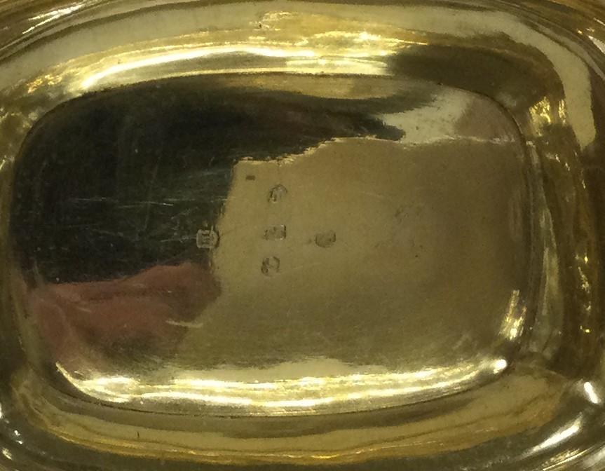 EDINBURGH: A good quality engraved silver sugar bo - Image 2 of 2