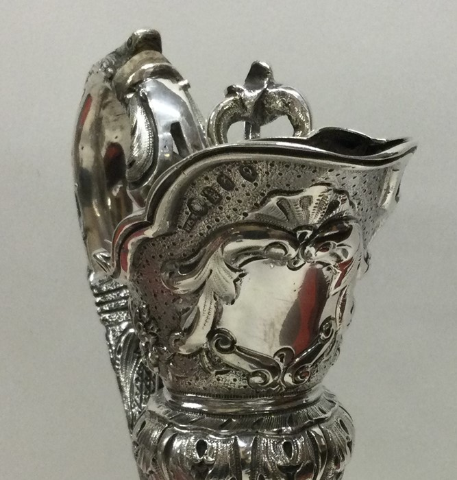DUBLIN: An attractive Victorian silver wine ewer a - Image 2 of 3