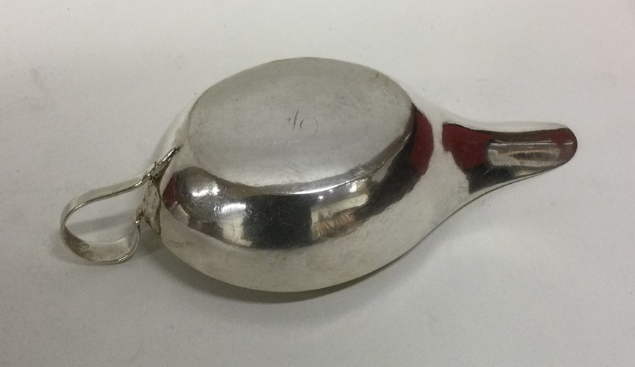 An 18th Century silver and silver gilt pap boat; ( - Image 2 of 2