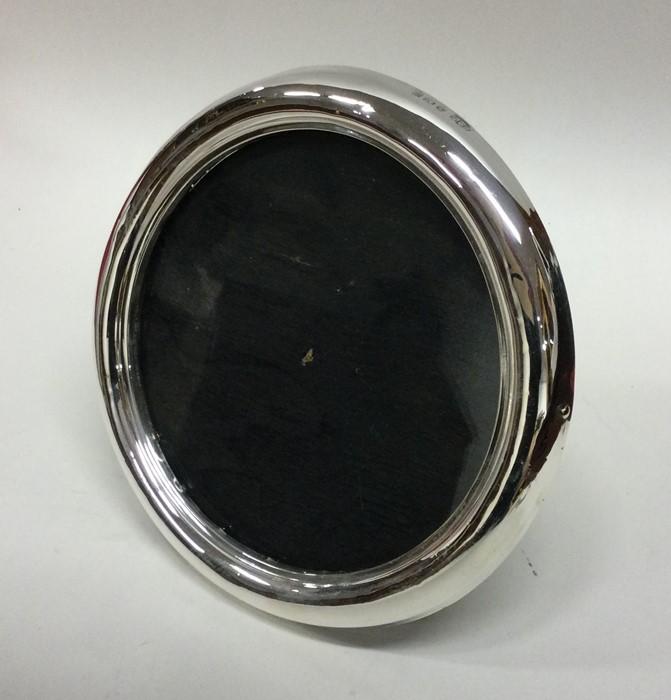 A good circular silver picture frame. Birmingham 1