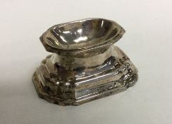 A Continental silver Antique trencher salt of typi