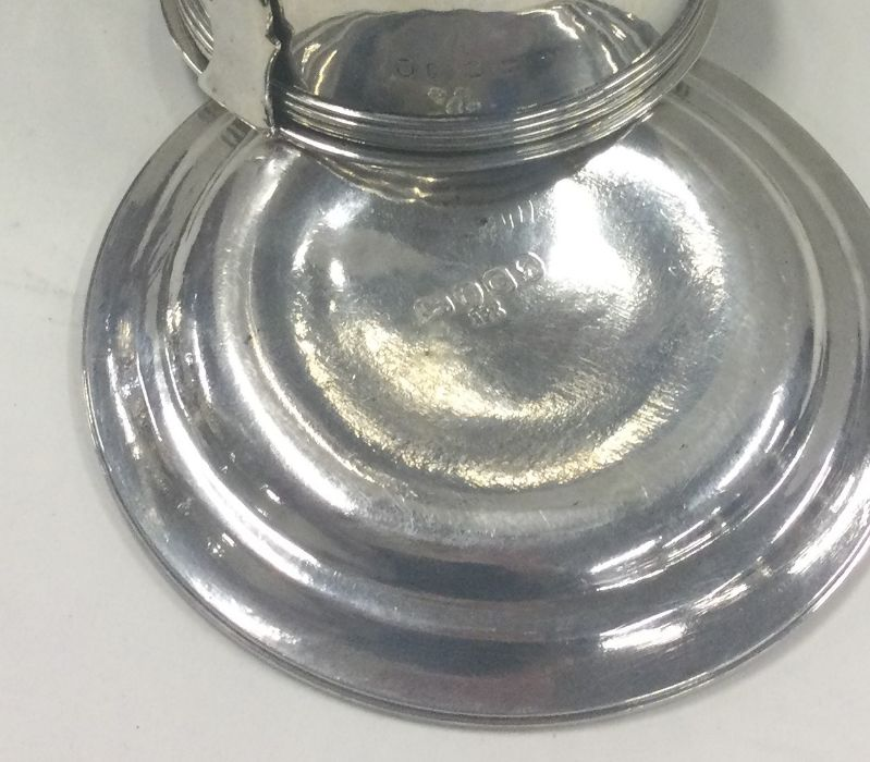 A rare Georgian silver wine funnel with reeded bor - Image 2 of 2