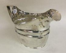 NEWCASTLE: A good George II bright cut silver crea