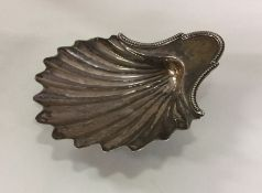 A Georgian silver butter dish in the form of a she