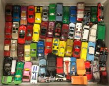 A selection of toy American race cars to include M