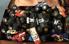 A selection of Monster Trucks of varying makers an