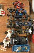 CORGI: A selection of go-carts and race cars of va