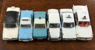 VANGUARDS: A toy Triumph Dolomite police car toget