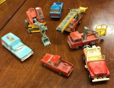 CORGI: A selection of various toy vehicles to incl