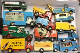 CORGI: A diecast toy truck together with other toy