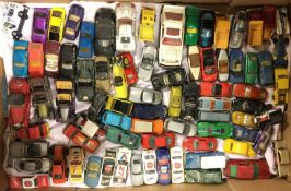 A box containing MATCHBOX toy cars etc.