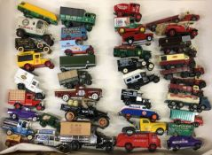 A collection of diecast CORGI and other vintage to