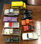 A selection of MATCHBOX toy vehicles to include a