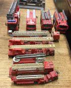 CORGI: A diecast toy Volvo fire engine together wi