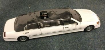 A SUNSTAR diecast toy limousine.