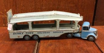 DINKY: A blue Bedford Meccano Ltd 'Delivery Servic