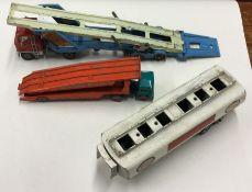 CORGI: A toy Carrimore car transporter together wi