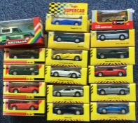 MAISTO: A selection of boxed diecast 'Supercar Col