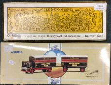 CORGI: A boxed diecast toy lorry with matching tra