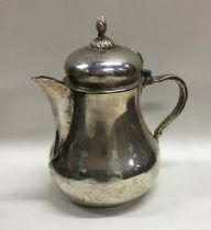 An unusual baluster shaped Antique Italian jug wit