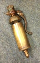 A full-size live steam brass traction engine whistle. Est. £150 - £200.