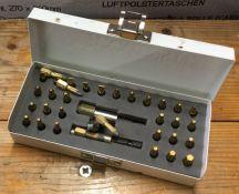 A set of Axminster screwdriver/drill bits. Est. £5 - £10.