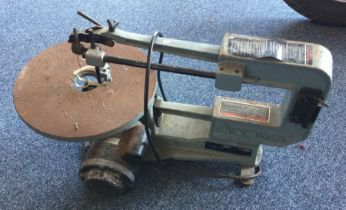 """A Delta 16"""" Variable Speed Scroll Saw. Est. £20 - £30."""