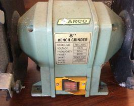 """A Warco 8"""" Bench Grinder. Est. £10 - £20."""