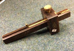 A Crown Tools Sheffield Standard Marking Gauge. Est. £5 - £10.