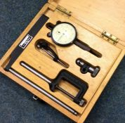 A John Bull dial gauge in original case. Est. £20 - £30.