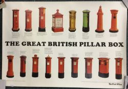 A Post Office poster depicting 'The Great British