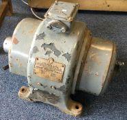 A Wadkin & Co. Direct Current Motor Type DY 1815 220-230v. Est. £150 - £200.