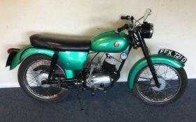 A Francis-Barnett Model 96 150cc two-stroke. Est. £1800 - £2000.