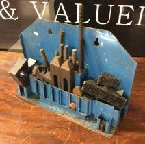 A Milling Machine Table Clamping Set (part complete). Est. £5 - £10.