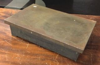 A Machinist marking out and inspection table. Est. £30 - £40.