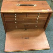 A Vintage Union 7-Drawer Engineers Tool Chest. Est. £80 - £100.