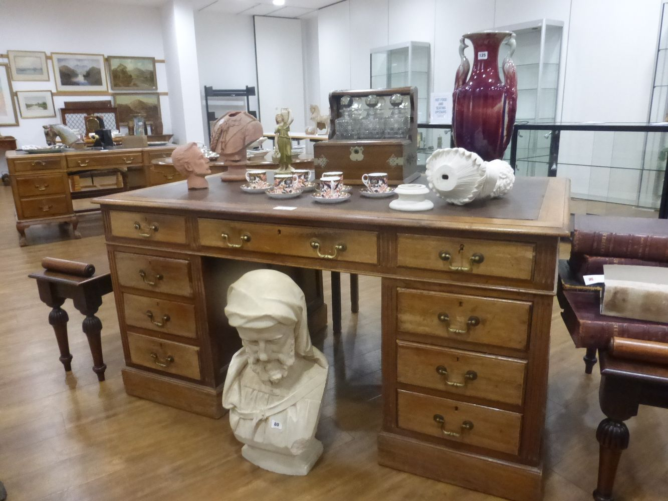 Antique Furniture, Works of Art, Paintings, Silver, Ceramics, Glass, Collectors' Items, Books, Maps & Ephemera