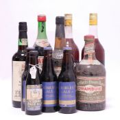 10 various bottles, 1x Althorp Very Old Ruby Port Selected for Earl Spencer,