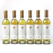 6 half bottles of Errazuriz Late Harvest Sauvignon Blanc 2015 Dessert wine 37.