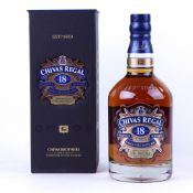 A bottle of Chivas Regal 18 year old Gold Signature Scotch Whisky with box 40% 75cl