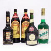 5 bottles, 2x Kahlua Coffee Liqueur 26.
