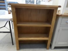 Oak dresser top/open front bookcase (31)