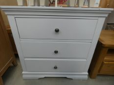 5110 Florence White 3 Drawer Chest (30)