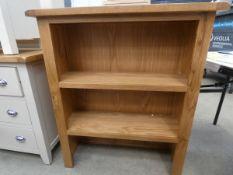 Oak dresser top/open front bookcase (4)