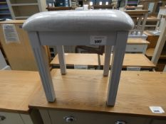 Blue painted dressing stool (9)