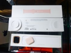 Apple Series 6 40mm smart watch with charger, box and strap