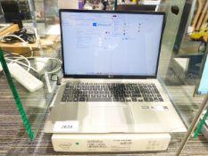 LG Gram 17inch laptop, Inter Core i7 10th generation processor, 16GB RAM, 256GB storage. Comes